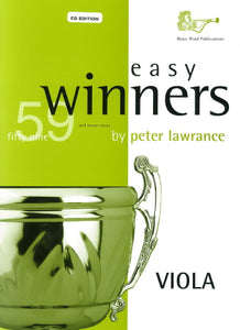 Easy Winners for Viola (CD Edition)