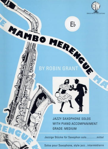 Mambo Merengue for Alto Saxophone (with Piano)