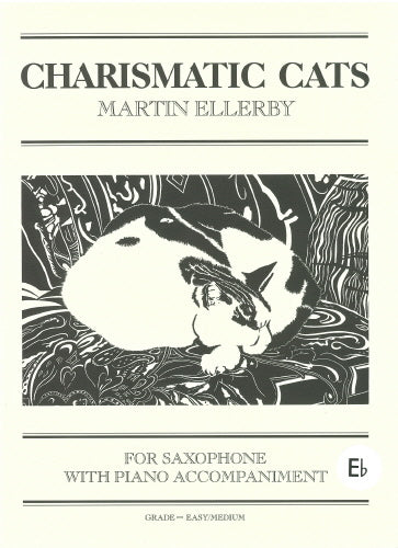 Charismatic Cats for Alto Saxophone & Piano