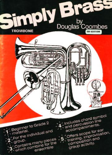 Douglas Coombes: Simply Brass for Trombone (Bass Clef) with CD