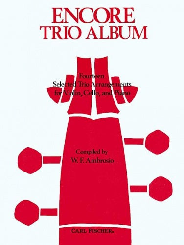 Encore Trio Album for Piano Trio