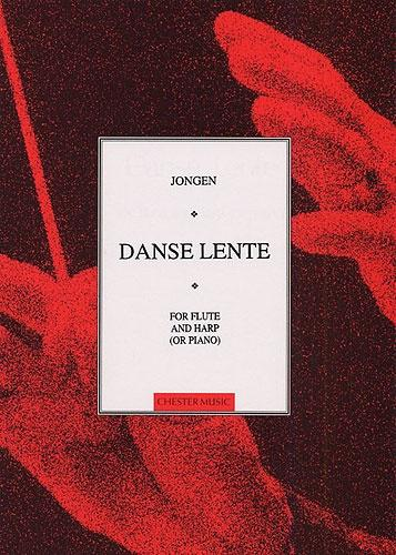 Joseph Jongen: Danse Lente for Flute and Harp (or Piano)
