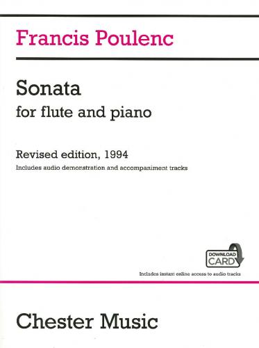 Sonata for Flute & Piano (Includes Audio Access)