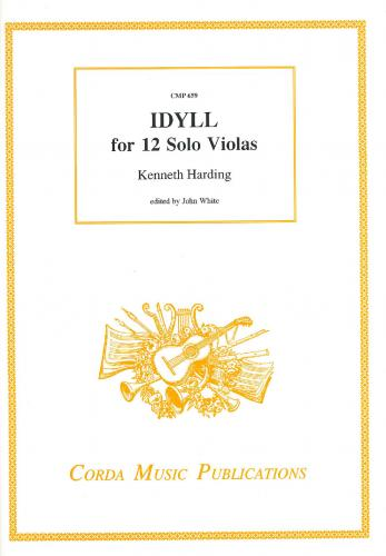Kenneth Harding: Idyll for 12 Solo Violas - Score & Parts