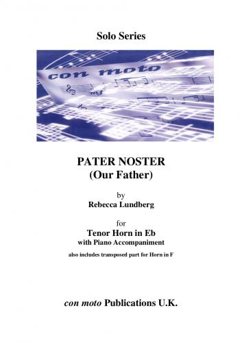 Pater Noster (Our Father), Eb Horn with Piano Acc. (includes F Horn part)