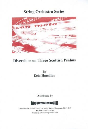 Diversions on 3 Scottish Psalms, score only