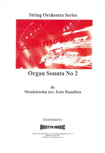 Organ Sonata No. 2, score only