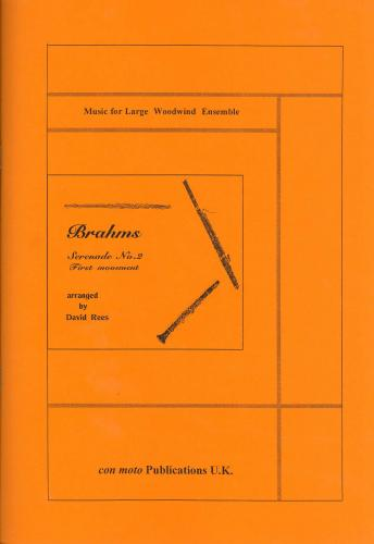 Serenade No. 2, 1st Movement, score only