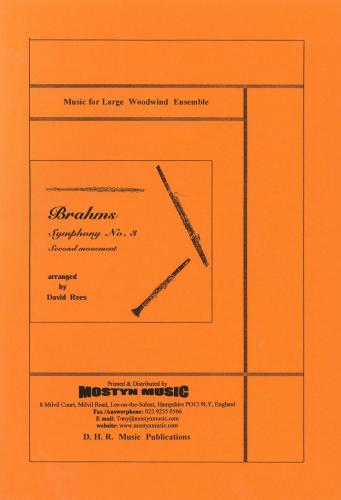 Symphony No.3, 2nd Movement, score only