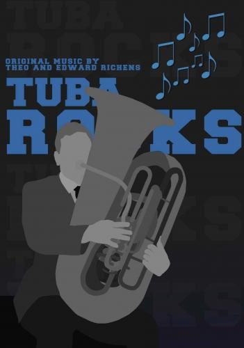 Tuba Rocks (Tuba, Eb Bass and Bb Bass and Piano)