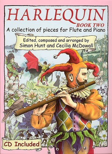 Harlequin Book 2 for Flute and Piano (CD included)