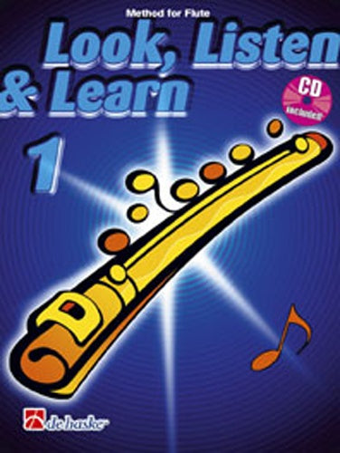 Look, Listen & Learn (Method for Flute) Book 1