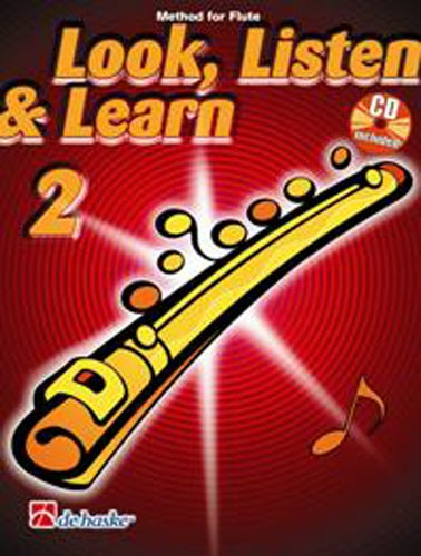Look, Listen & Learn (Method for Flute) Book 2