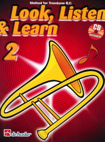 Look, Listen & Learn (Method for Trombone Bass Clef) Book 2