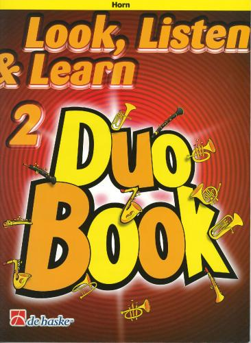 Look, Listen & Learn 2 - Duo Book (Horn)