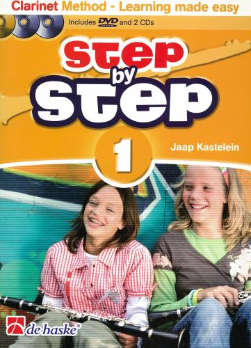 Jaap Kastelein: Step by Step 1 (Clarinet Tutor)