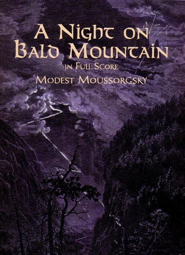 Mussorgsky: A Night On Bald Mountain, Fantasy for Orchestra (Dover Score)