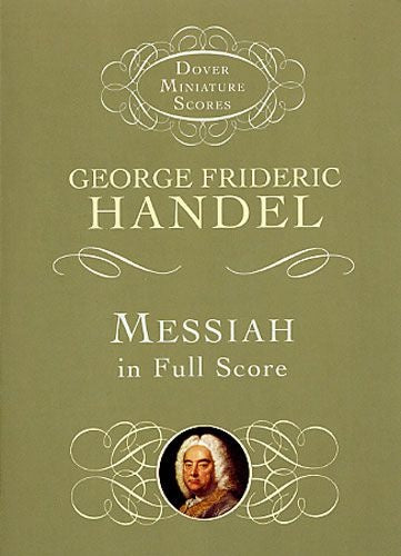 Handel: Messiah HWV 56 - in Full Score (Miniature Score)
