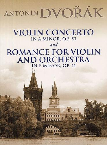 Violin Concerto in A minor Op. 53 & Romance in F minor Op.11 (Full Score)