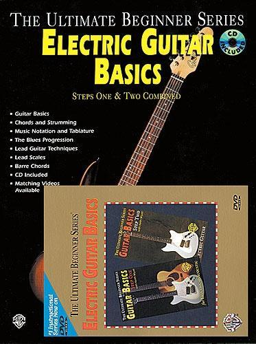 Ultimate Beginner: Electric Guitar Basics (Book & DVD)