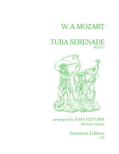 Tuba Serenade K525½ for 4 Tubas