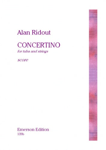 Ridout: Concertino for Tuba and Strings (Set of Parts)
