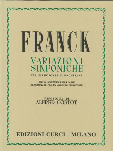 Franck: Symphonic Variations for Piano & Orchestra (2 Piano Reduction)