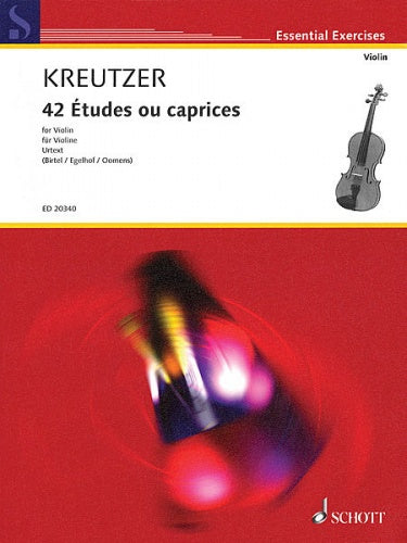 42 Studies (Caprices) for Violin Solo - Urtext