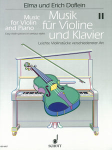 Music for Violin and Piano (Volume 2), ed: Doflein and Doflein