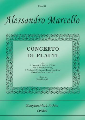 Concerto di Flauti for Recorders and strings