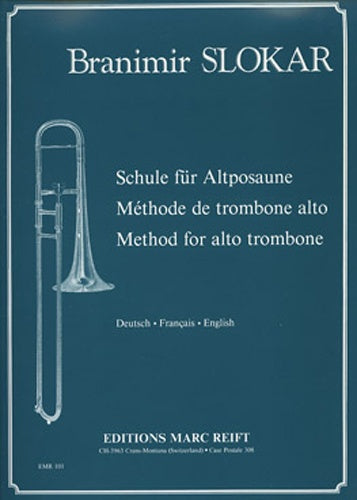Slokar: Complete Method for Alto Trombone