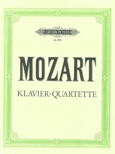 Piano Quartets in G minor K478 & Eb Major K493