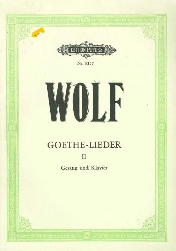 Goethe-Lieder: 51 Songs Vol.2