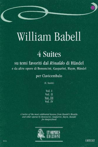 William Babell: 4 Suites - Vol. III