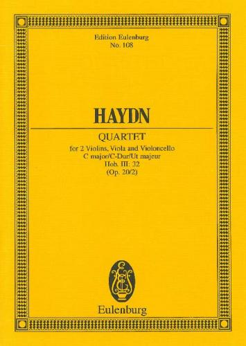 String Quartet in C Major Hob. III:32 Op.20/2