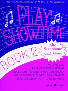 Play Showtime Book 2 (Alto Saxophone and Piano)