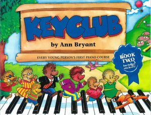 Ann Bryant: Keyclub Pupil's Book 2 (Piano Tutor) with stickers