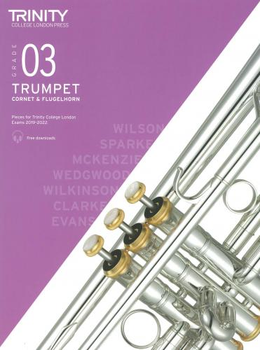 TCL Trumpet Exam Pieces 2019-2022 - Grade 3 (Audio Access)