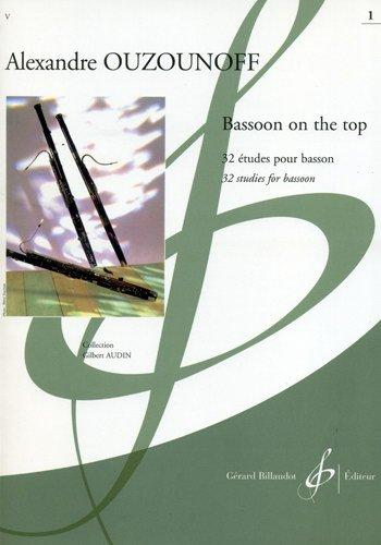 Alexandre Ouzounoff: Bassoon On The Top Volume 1 - 32 Etudes