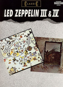 Classic Led Zeppelin III & IV (Authentic Bass TAB)