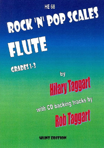 Rock 'N' Pop Scales: FLUTE by Taggart + FREE CD