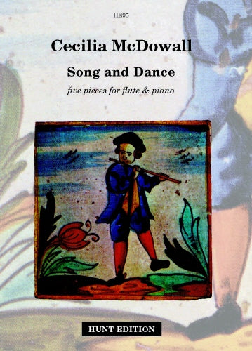 Cecilia McDowall: Song and Dance for flute & piano