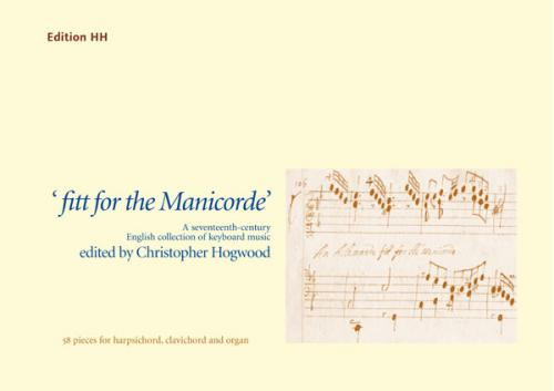 fitt for the Manicorde - Score (Harpsichord)