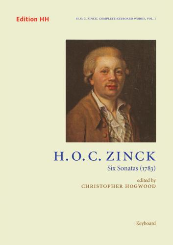 H. O. C. Zinck: Six Sonatas (1783) - Playing score
