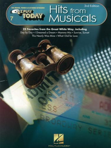 Various: EZ Play Today - Hits from Musicals for Organ/Keyboard