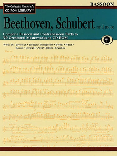 Beethoven, Schubert & More – Volume 1 (Bassoon Orchestral Excerpts)