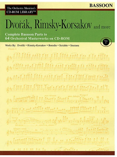 Dvořák, Rimsky-Korsakov and More - Volume 5 (Bassoon Orchestral Excerpts)