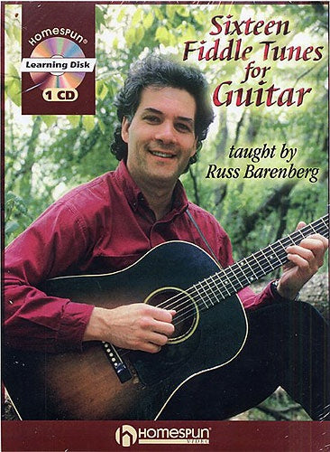 Sixteen Fiddle Tunes for Guitar (Book & CD), Russ Barenberg