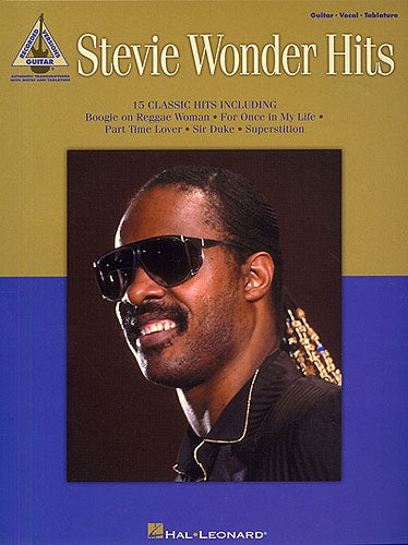 Stevie Wonder: Hits (Guitar TAB)