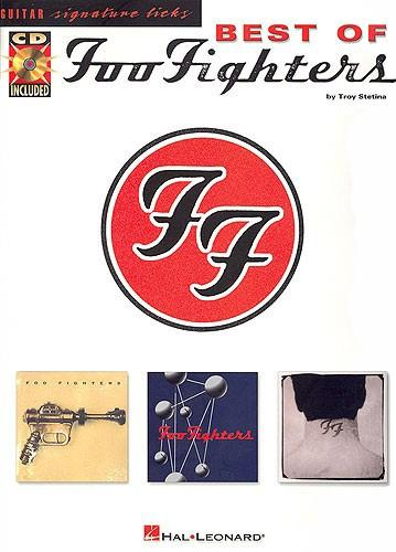 Best of Foo Fighters: Guitar Signature Licks (TAB) with CD